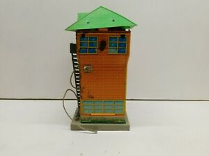 O Scale Whistling  Battery Operated Whistling Building - Parts or Repair