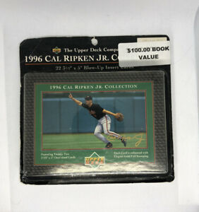 """Upper Deck Cal Ripkin Jr. 3.5' X 5"""" Blow Up Insert Cards 22 Count SEALED PACK"""