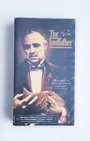 THE GODFATHER PART 1, 2 & 3 AL PACINO WIDESCREEN CLASSIC VHS VIDEO UK PAL SET 18