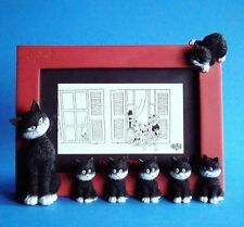 "Les Chats de Dubout /""L'alignement-Cats in a row/"" Fotoframe ALBERT DUBOUT DUB39"