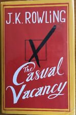 THE CASUAL VACANCY ~  J.K. ROWLING ~ HARDCOVER WITH DUST JACKET  ~ BRAND NEW