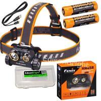 Fenix HM65R 1400 Lumen rechargeable LED Headlamp/flashlight w/ 2X3500mAh battery