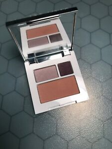 Clinique Color Surge Eye Shadow Trio Come From Heather , Mocha Pink Rare Shades