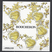 Feuillet coeurs Boucheron (année 2019)