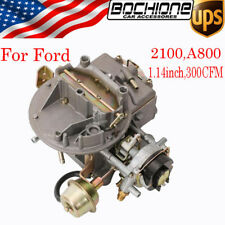 2100 A800 1.14inch 300CFM 2-Barrel Car Carburetor Fits Ford F350 250 150 Carb