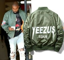 YEEZUS TOUR BOMBER JACKET MA-1 Flight KANYE WEST