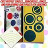 Arcs & Fans Quilt Circle Cutter Ruler AU