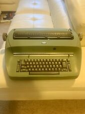 Vintage IBM Selectric Typewriter Compact Model 1 RARE Green Mint Works Great