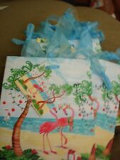 "HOLIDAY MINI GIFT BAGS  LOT OF 10  APPROX. SIZE 4 1/2"" X 5 1/2"" PELICAN"