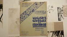 APPAREILLAGE ELECTRIQUE EN GROS / MAGASINS GÉNÉRAUX DE ELECTRICITÉ / 1952