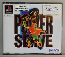 POWER SERVE - PLAYSTATION 1 - PAL ESPAÑA - COMPLETO