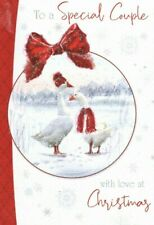 Special Couple at Christmas Greeting Card    By Out of The Blue  ~ Free P&P