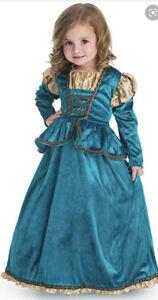 Little adventures Scottish princess fancy dress size 5-7 yrs old Large
