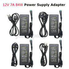 84W 7A ED Power Supply Adapter Transformer For ED Strip AC110-240V to   1