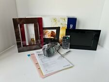 """Sony DPF-E72N S-Frame Black 7"""" Digital Photo Picture with 2 Colour Panel"""