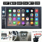 """2DIN 7"""" HD Car Stereo Radio MP5 Players Bluetooth Touch Screen With Rear Camera"""