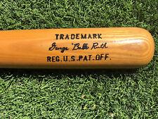 George Babe Ruth H&B 125 Model R1935 Bat Louisville Slugger Hillerich & Bradsby