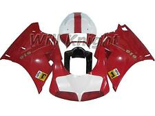Fairing Kit for Ducati 748 916 996 998 1996-2002 Injection ABS Red White Cover