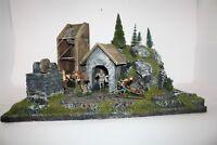 Alte Miene / Bergwerk Silberbach 2684, zu 7cm Sammelfiguren, Fertigmodell
