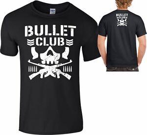 Bullet Club Pro Wrestling T Shirt  Top Japan MMA WCW UFC NJPW S To 5XL