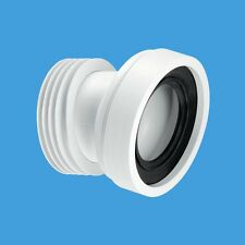 """McAlpine WC-CON7A 4"""" / 110mm 14 Deg Angled Pan Connector - FREE SHIPPING"""