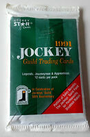 jockey guild trading cards 1991 single pack of 12 cards 50th anniversary
