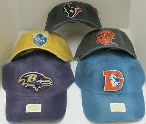 NFL Authentic Retro Sport Slouch Fitted Hat By Reebok