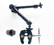 Heavy Duty 11 Inch Arm Magic For LED Light Articulating Adjust + Clamp