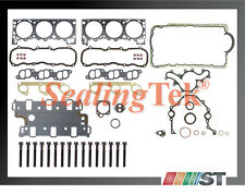 Fit 1994 Ford 4.0L V6 OHV X Engine Full Gasket Set with Cylinder Head Bolts Kit