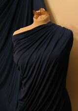 Royal Blue 4 Way Stretch Jersey Lycra Spandex Fabric Dress Prom Dance Wear 60""