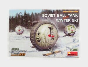 Tank Soviet Ball Tank With Winter Ski kit MINIART 1:35 MA40008