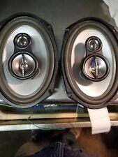2 units Lightning Audio Bolt B1.69.3 3-Way 6in. x 9in. Car Speaker. Plus bonus.