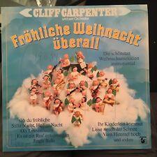LP Cliff Carpenter >Fröhliche Weihnacht überall<  Hansa PLATTE/RECORD TOP!