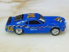 2002 Maisto 1970 '70 Ford Boss Mustang Blue Loose 1/64 Scale Racer Rare