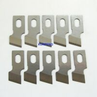 2 pieces #S356N buttonholer couteau pour REECE S1 S3 JUKI MBH-180 FEIYUE FY737+ S2