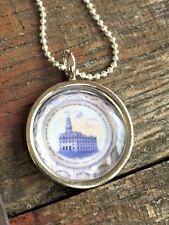 Nauvoo Temple Plate Necklace - Mormon Nauvoo LDS Jewelry