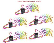 Girls Boys Children Cloth Hanger Baby Trouser Coat Hanger Multicolor Pack of 40
