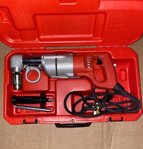 "MILWAUKEE 3107-6 7 Amp 1/2"" Corded Heavy Right-Angle Drill Kit"