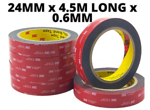 3M VHB DOUBLE SIDED TAPE ROLL VERY STRONG SELF ADHESIVE STICKY TAPE