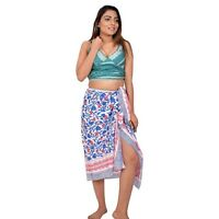 NEW UNISEX BLUE GECKO SARONG PAREO ONE SIZE BNIP //sa285