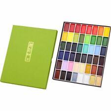 ZIG Kuretake Gansai Tambi Japanese Water colour pan paint set of 48 colours