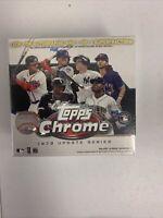 ✅⚾️🔥2020 Topps Chrome MLB Baseball Update Series Mega Box - New Sealed