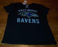 Vintage Style Women'S Teen Baltimore Ravens Nfl Football T-Shirt Xl New w/ Tag