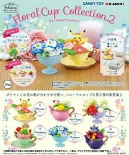 Re-Ment Pokemon Floral Cup Collection 2 Complete set of 6 from JAPAN