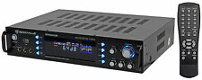 Rockville RPA6000USB 1000w 2 Channel Home Theater Receiver With Tuner/USB/Mixer