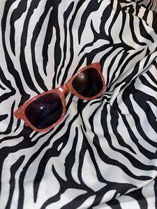 Baby Pink Glitter Sunglasses