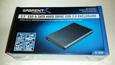 "2.5""  SSD & SATA HDD USB 3.0 ENCLOSURE. USB3 EXTERNAL CASE  SATA SSD HDD EC-Uk30"