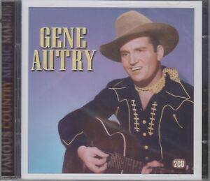 """Gene Autry """"Famous Country Music Makers"""" NEW & SEALED 2CD Set *40 Tracks* (2008)"""