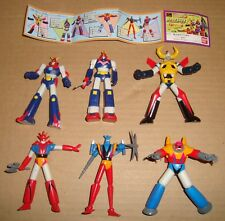 HG GASHAPON FIGURE SUPER ROBOT PART 2 SET COMPLETO BANDAI 1997 (GAIKING/GETTER)