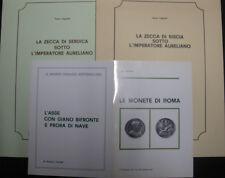 LOTTO di 4 estratti di Numismatica edizione LA NUMISMATICA: monete ROMANE
